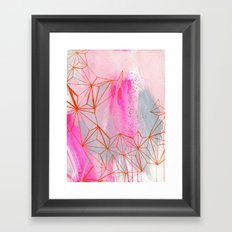 hot mouths Framed Art Print
