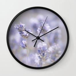 Lavenderfield - Lavender Summer Flower Flowers Floral on #Society6 Wall Clock