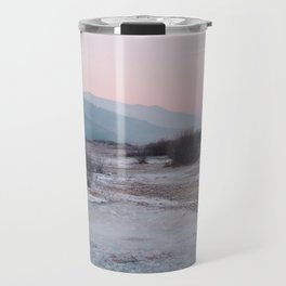 Frozen morning Travel Mug