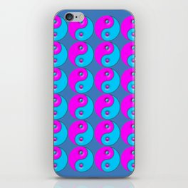 Yin Yang repeat pattern iPhone Skin
