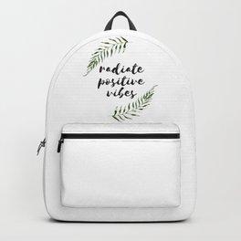 radiate positive vibes Backpack