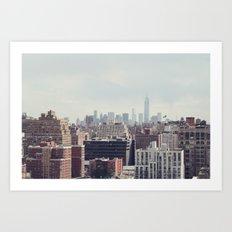New York City Skyline I Art Print