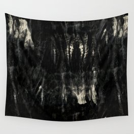 Dark tie dye Wall Tapestry