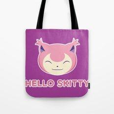 Hello Skitty Tote Bag