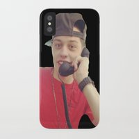 snl iPhone & iPod Cases featuring Phone by F*** Me Pete Davidson