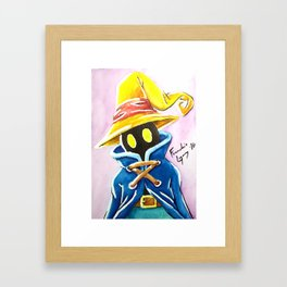 Black Mage: Vivi Orniter Framed Art Print