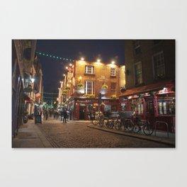 Temple Bar in Dublin Canvas Print