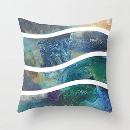 Shore Line Throw Pillow