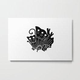 Taira Clan · Black Mon Metal Print