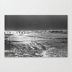 Berrow Beach Canvas Print