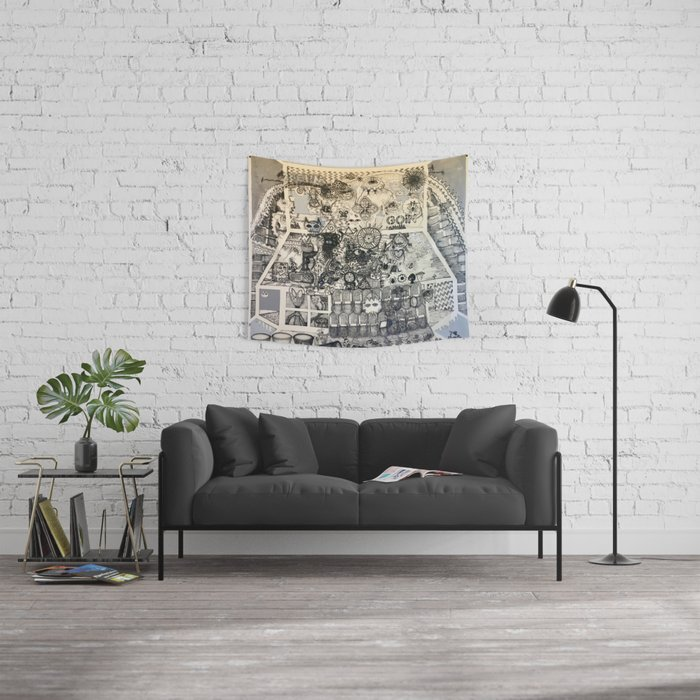 Goin Somewhere Wall Tapestry