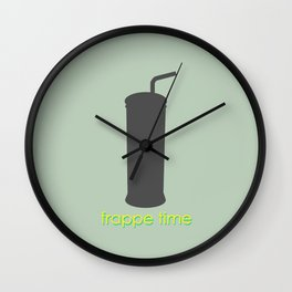 Frappe time! Wall Clock