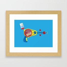 Hamstamatic 3000 Framed Art Print
