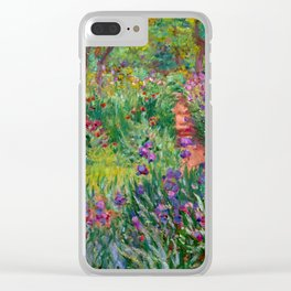 "Claude Monet ""The Iris Garden at Giverny"", 1899-1900 Clear iPhone Case"
