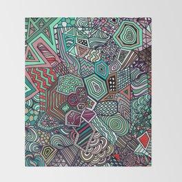 Jolly Geometric Throw Blanket