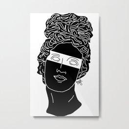 The Muse Metal Print