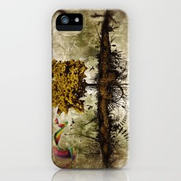 Space in Time  iPhone Case