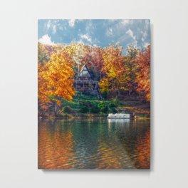 House on the Lake Metal Print