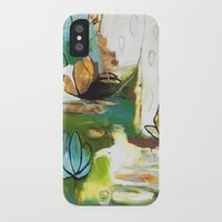 """flora bowley iPhone & iPod Cases featuring """"Rise Above"""" Original Painting by Flora Bowley by Flora Bowley"""