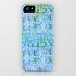 aztec by the ocean iPhone Case