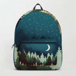 Star Forest Reflection Backpack