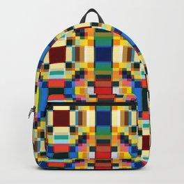 Abstract Minimal Geometric Flowers Sirrush Backpack