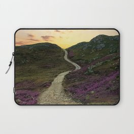 Sunset at Skye Island Laptop Sleeve