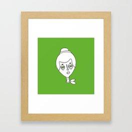 faces 01 Framed Art Print