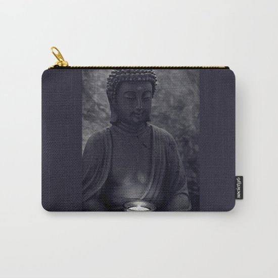 Buddha in the dark Carry-All Pouch