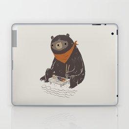 sushi bear Laptop & iPad Skin