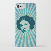 leia iPhone & iPod Cases featuring Leia by Durro