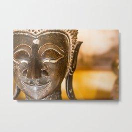 Wat Si Saket Buddhas XIII, Vientiane, Laos Metal Print