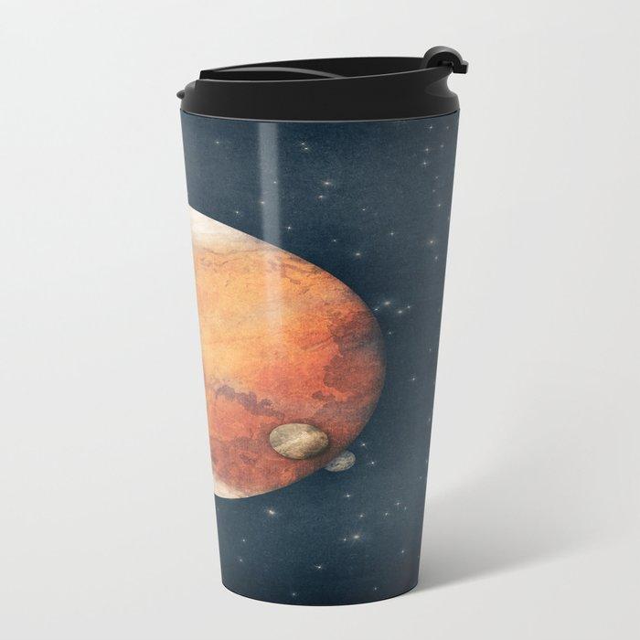 The Red Planet Metal Travel Mug