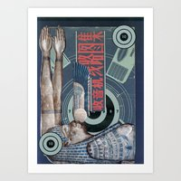 transistor Art Prints featuring Transistor Surrender by Ira Carter