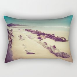 Blue Ocean Path Rectangular Pillow
