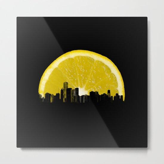 super lemon Metal Print