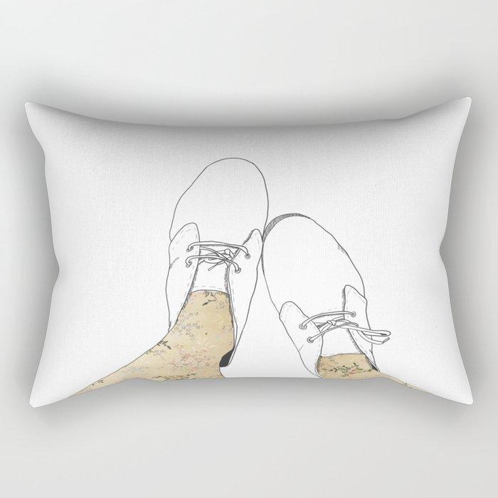 Boots Rectangular Pillow
