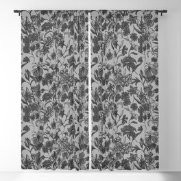 Wilderness: Monochrome Blackout Curtain