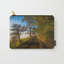 Smoky Morning - Whimsical Scene in Great Smoky Mountains Carry-All Pouch