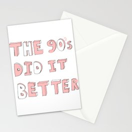 90's Child Stationery Cards