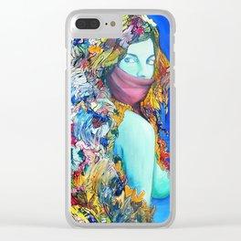 Medusas Sister Clear iPhone Case