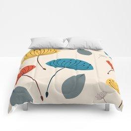 Dandelions in the wind Comforters