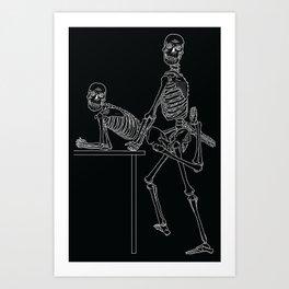 Skeleton Sex #2 Art Print