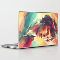 study Laptop & iPad Skins featuring A Study in Neon by Alice X. Zhang