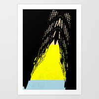 One Right Leaning Tower  Art Print