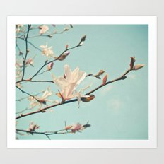 Paper Petals Art Print