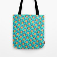 squirtle Tote Bags featuring Squirtle Squad by pkarnold + The Cult Print Shop