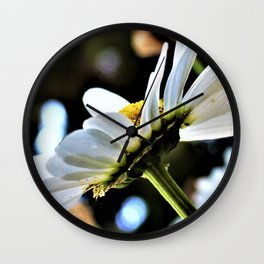 Flower No 4 Wall Clock
