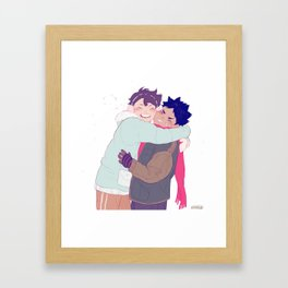 tiny iwaois Framed Art Print