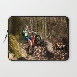 Where we're going we don't need roads Laptop Sleeve